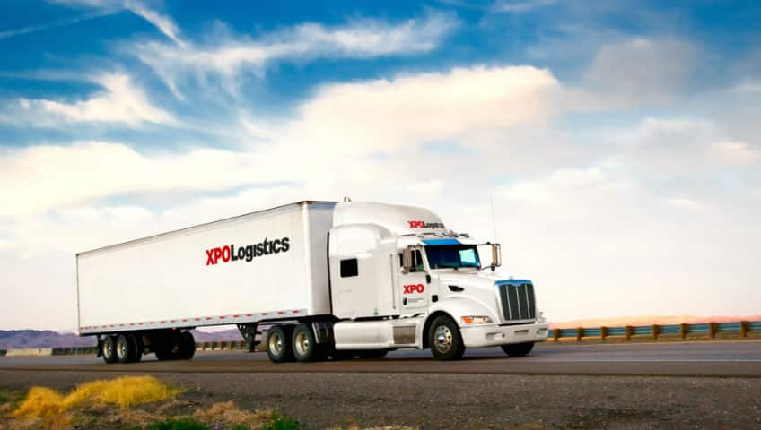 XPO Logistics Truck US